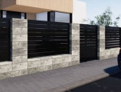 Stylowe ogrodzenia z bloczków betonowych - estetycznie i błyskawicznie zdj. 17