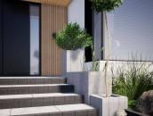 Dekoracyjne elementy betonowe w ogrodzie zdj. 8