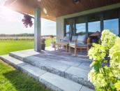 Dekoracyjne elementy betonowe w ogrodzie zdj. 19