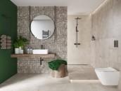 Mała łazienka w wielkim stylu zdj. 2