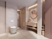 Mała łazienka w wielkim stylu zdj. 4