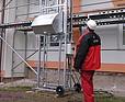 DE JONG Wieloczynnościowy dźwig towarowy MH150