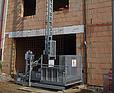 DE JONG Linowy dźwig budowlany A43